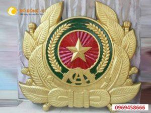 Đơn vị đúc huy hiệu công an nhân dân bằng đồng